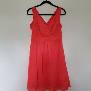 Land's End Coral dress size 6